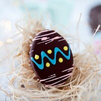Large Choc Hazelnut Easter Eggs (Box of 6)