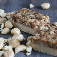 Fig & Macadamia Slice
